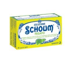 Soluzione Schoum Fegato 30 capsule rigide