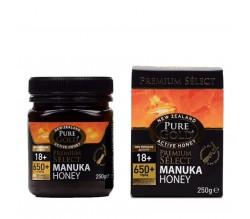 Pure Gold Miele Manuka NPA 18+MGO 650+250g