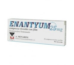 Enantyum 25 mg 20 compresse