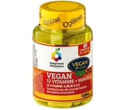 Vegan Vitamine+Minerali 1000mg 60 cpr