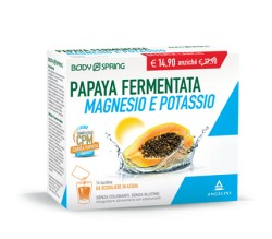 Papaya Fermentata Magnesio e Potassio bustine