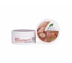 dr. Organic Body Souffle' all'Olio di Argan 200 ml